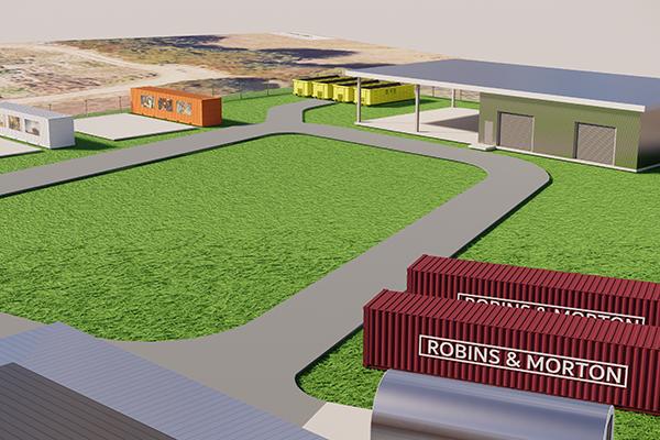 field lab rendering