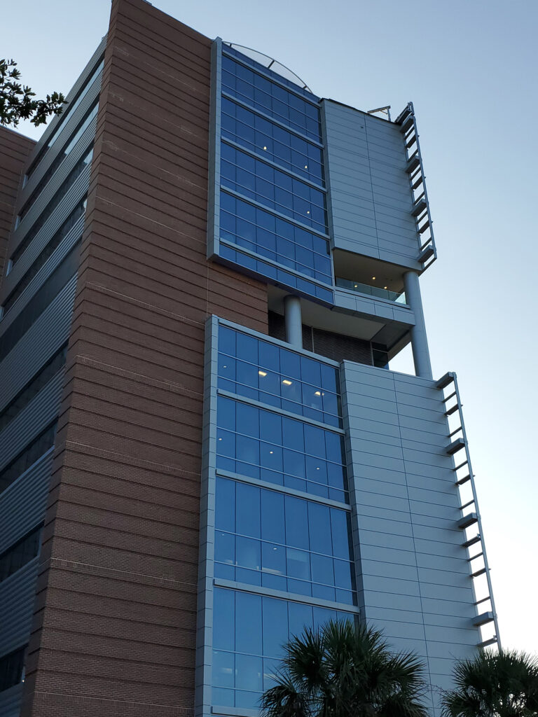 MUSC completed exterior