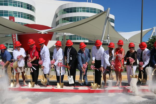 Robins & Morton, Florida Hospital Waterman celebrate hospital expansion groundbreaking