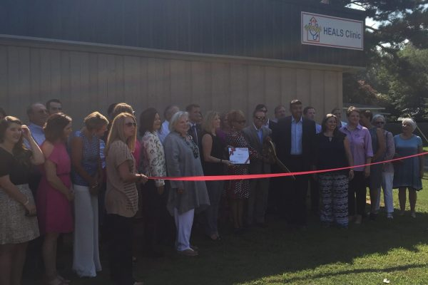 Robins & Morton, HEALS, Inc. holds ribbon cutting for Geraldine Bennett Penney HEALS Clinic