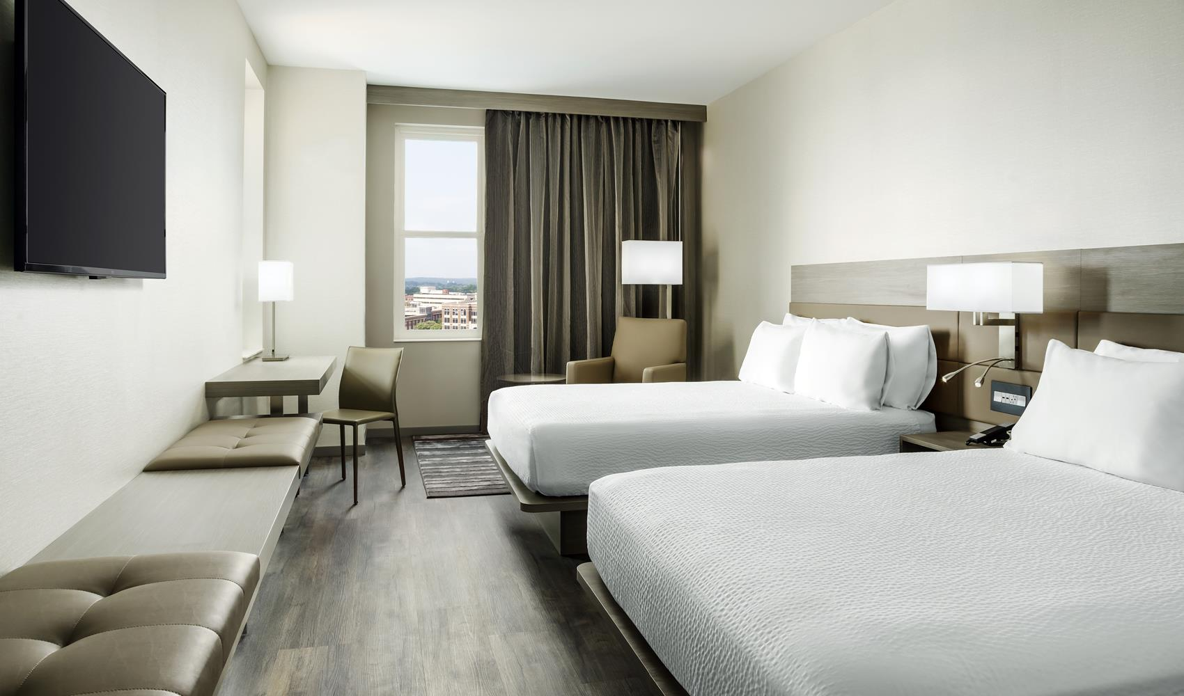 Double room at A C Hotel Spartanburg