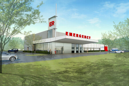 Emergency Department Rendering