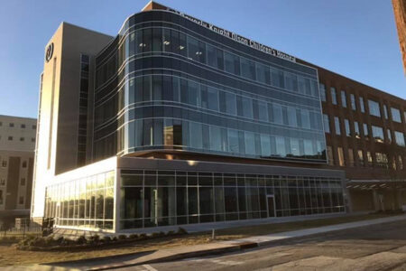 Beverly Knight Olson Children's Hospital exterior
