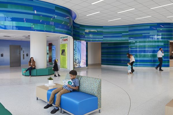 registration area of hospital
