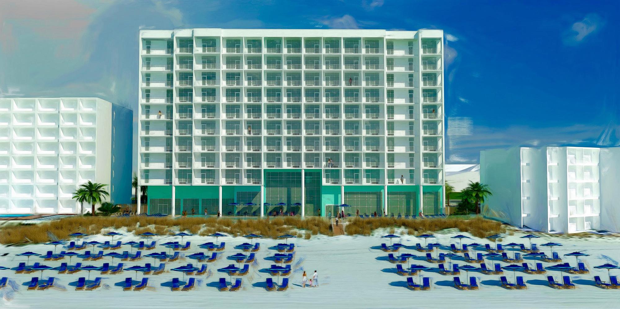 Beachside Hampton Inn