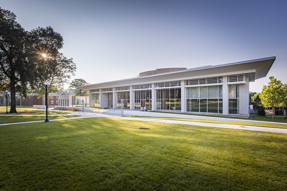 Wofford College Rosalind Sallenger Richardson Center for the Arts in Spartanburg