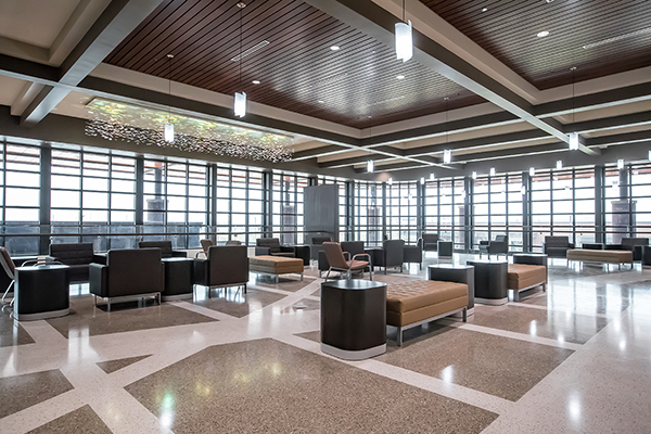 Robins & Morton, Choctaw Nation Health Services Authority celebrate three consecutive Durant campus LEED Silver certifications