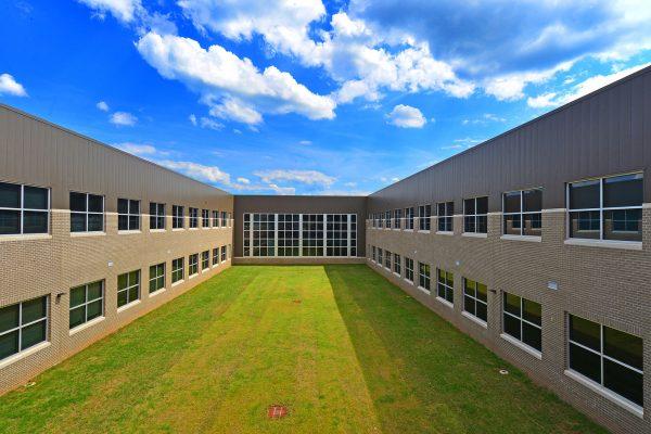 Courtyard at Opelika High School