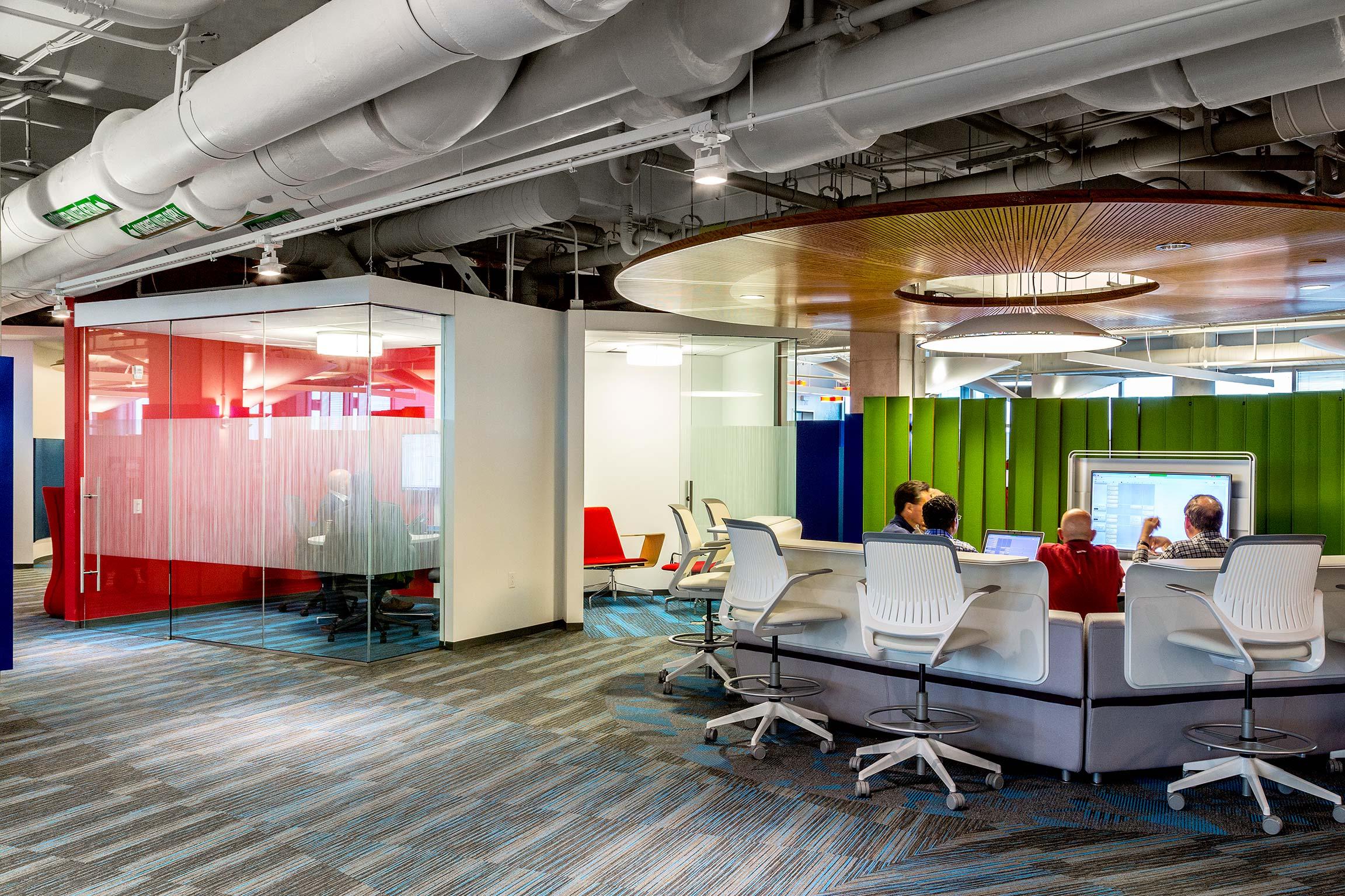 Interior view of Intergraph Headquarters