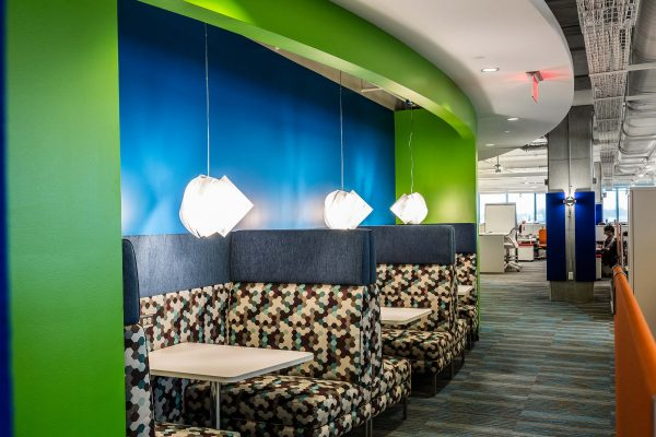 Collaborative meeting space inside Intergraph Headquarters