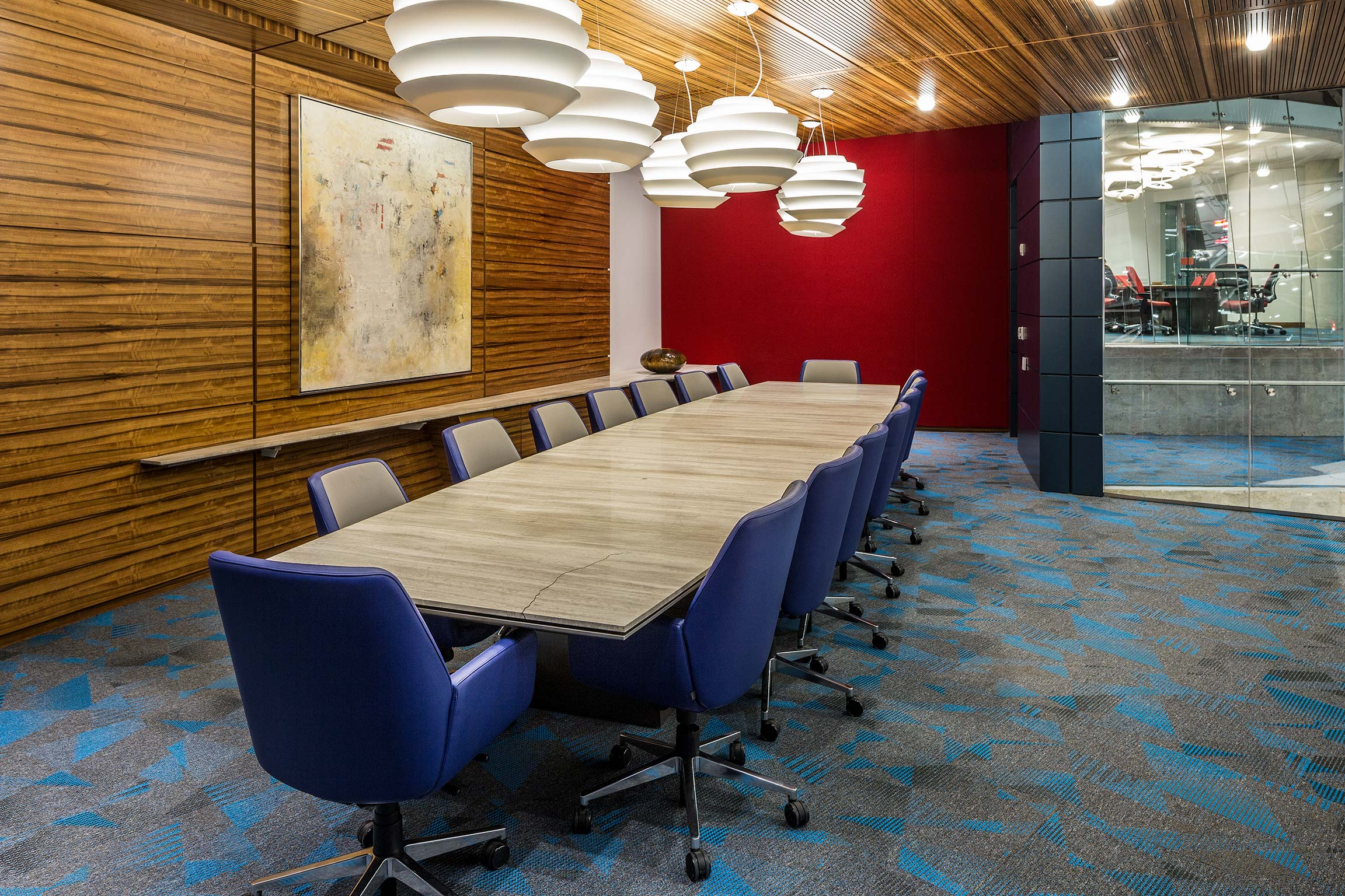 Conference room inside Intergraph Headquarters