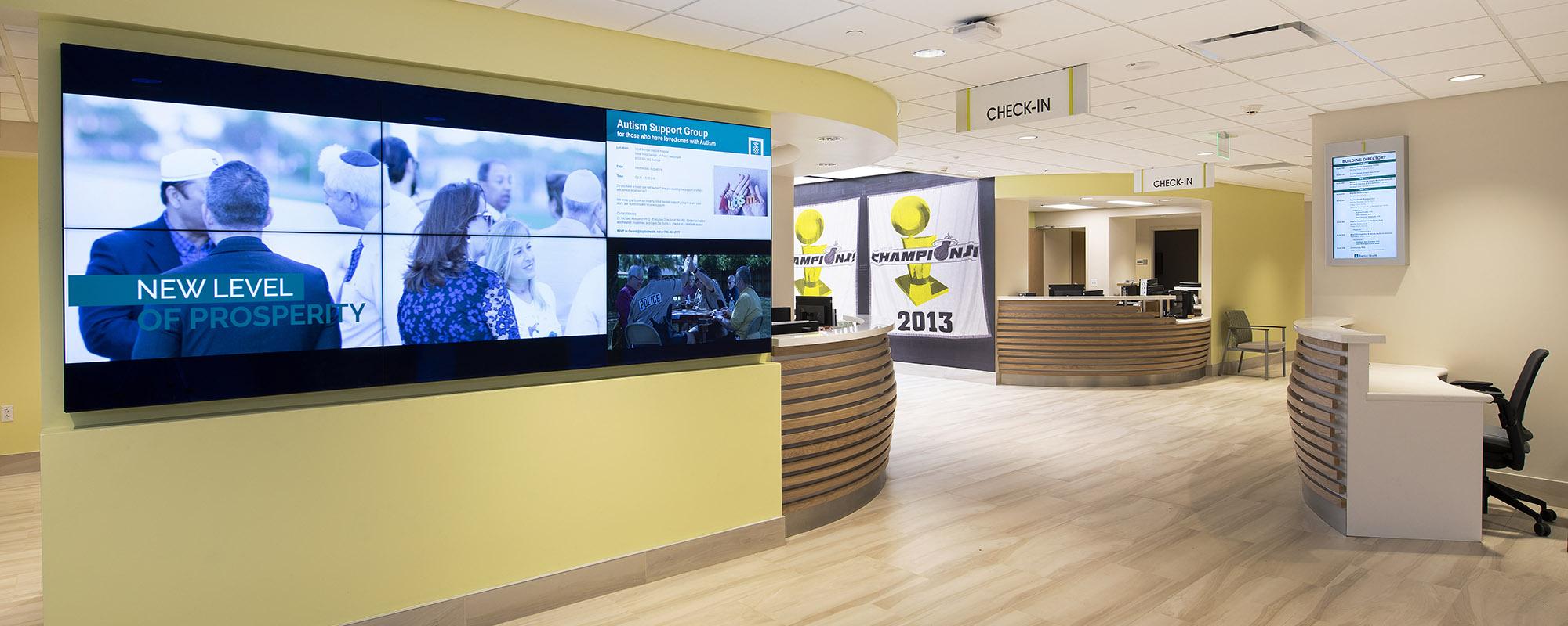 doctor's office lobby