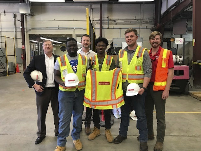signing day for construction workers