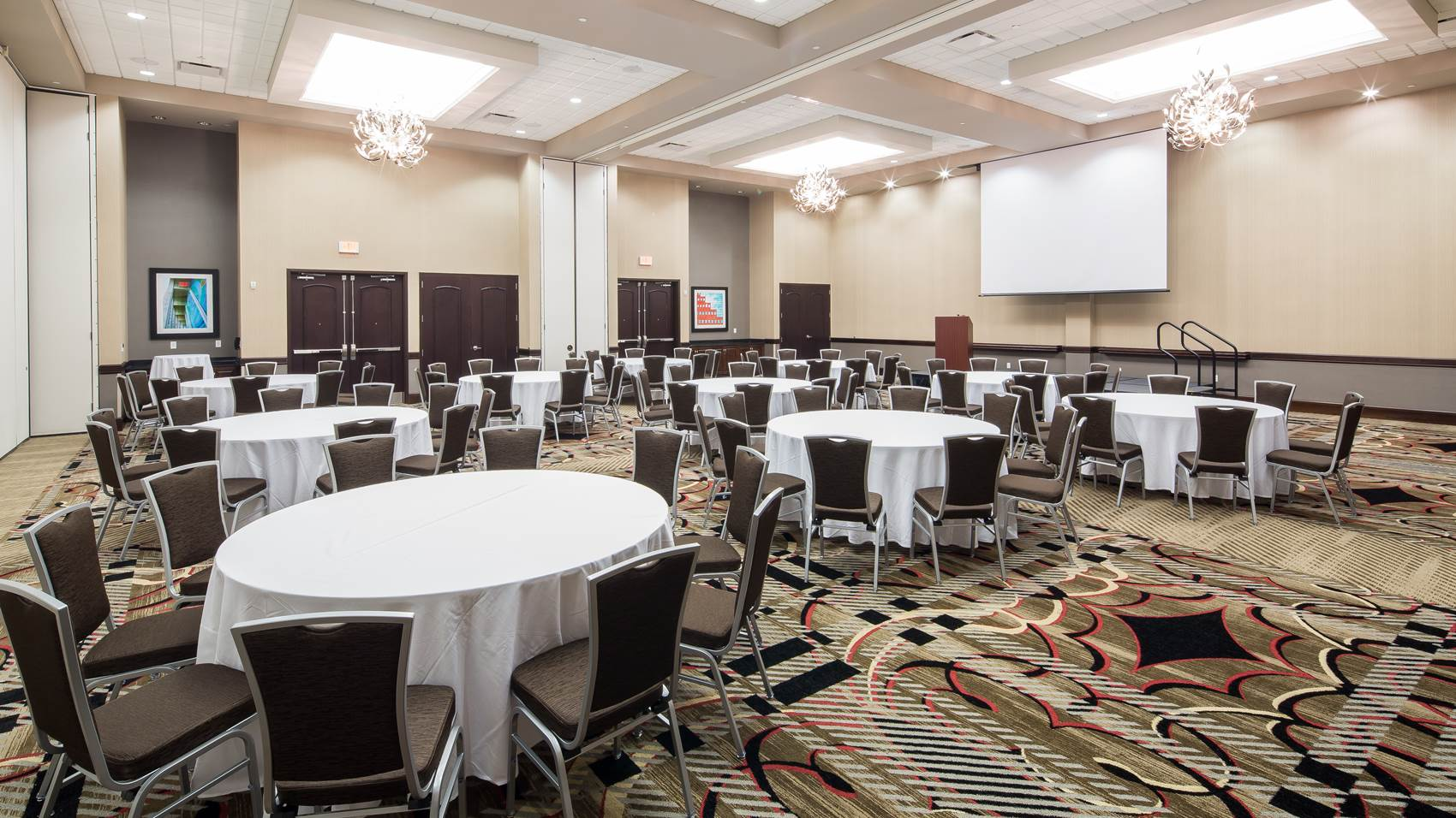 Conference space at Embassy Suites
