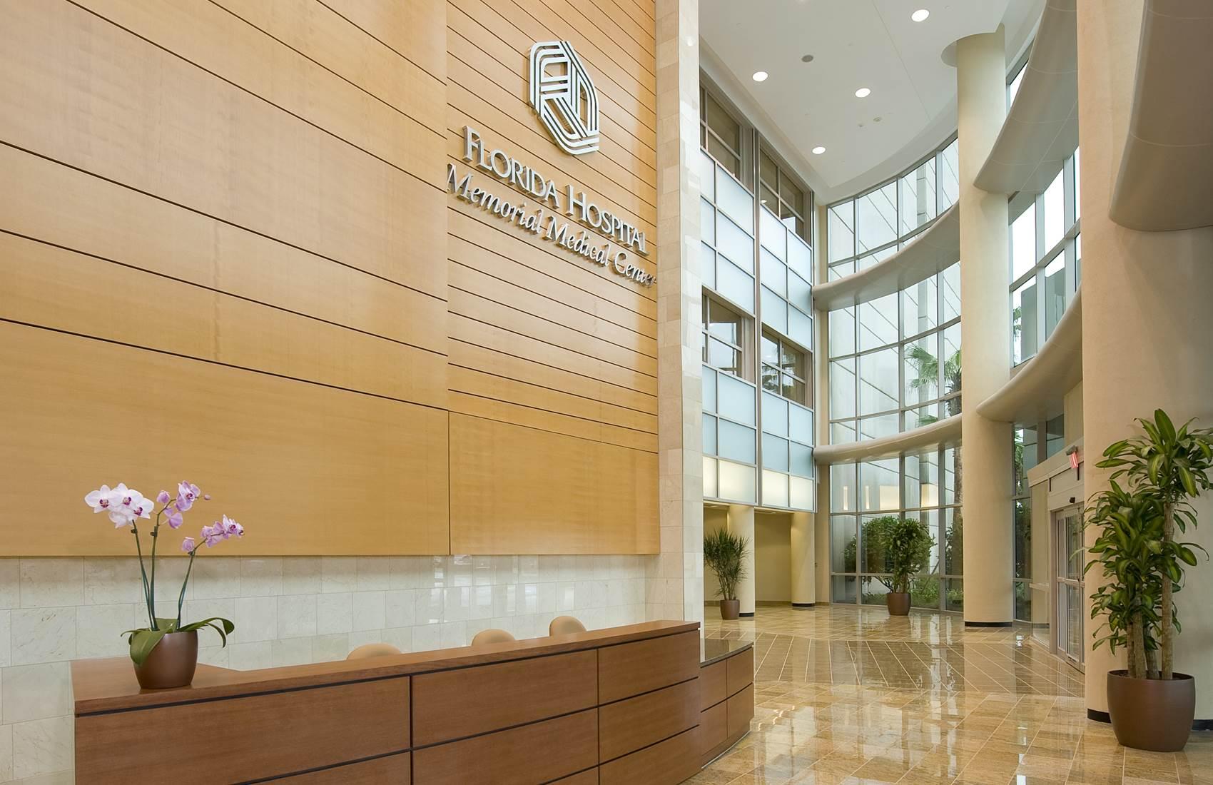 Florida Hospital Memorial Medical Center atrium
