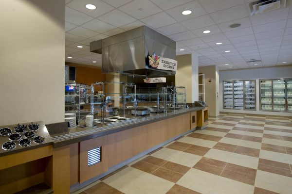 Food service area at Florida Hospital Memorial Medical Center