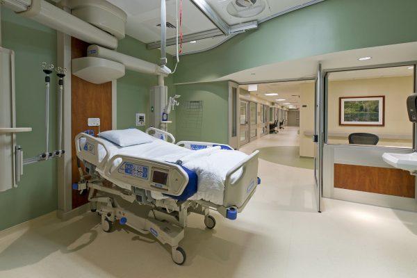 Fort Gordon Intensive Care Unit Patient Room