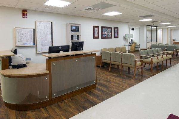 Lab waiting area at Fort Rucker