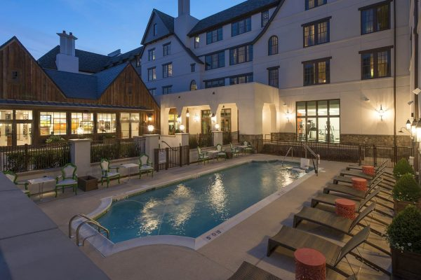Grand Bohemian Hotel pool area
