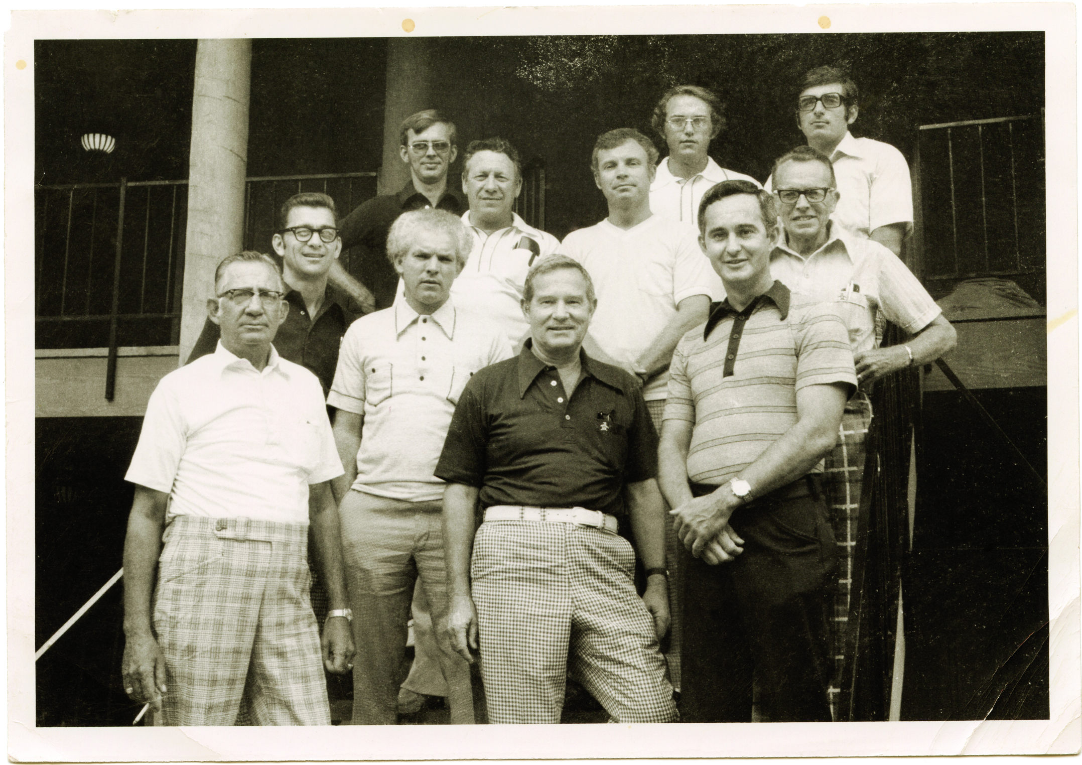 men posing for a photo