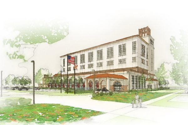 Rendering of Halifax Health Deltona Hospital