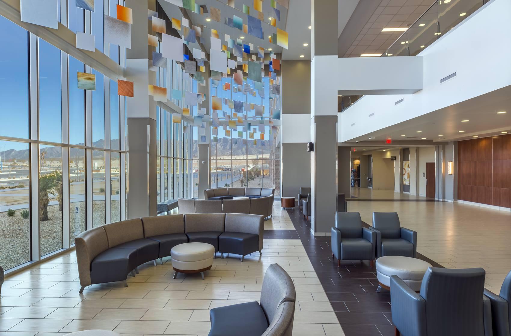 First Floor Lobby at Hospitals of Providence Transmountain