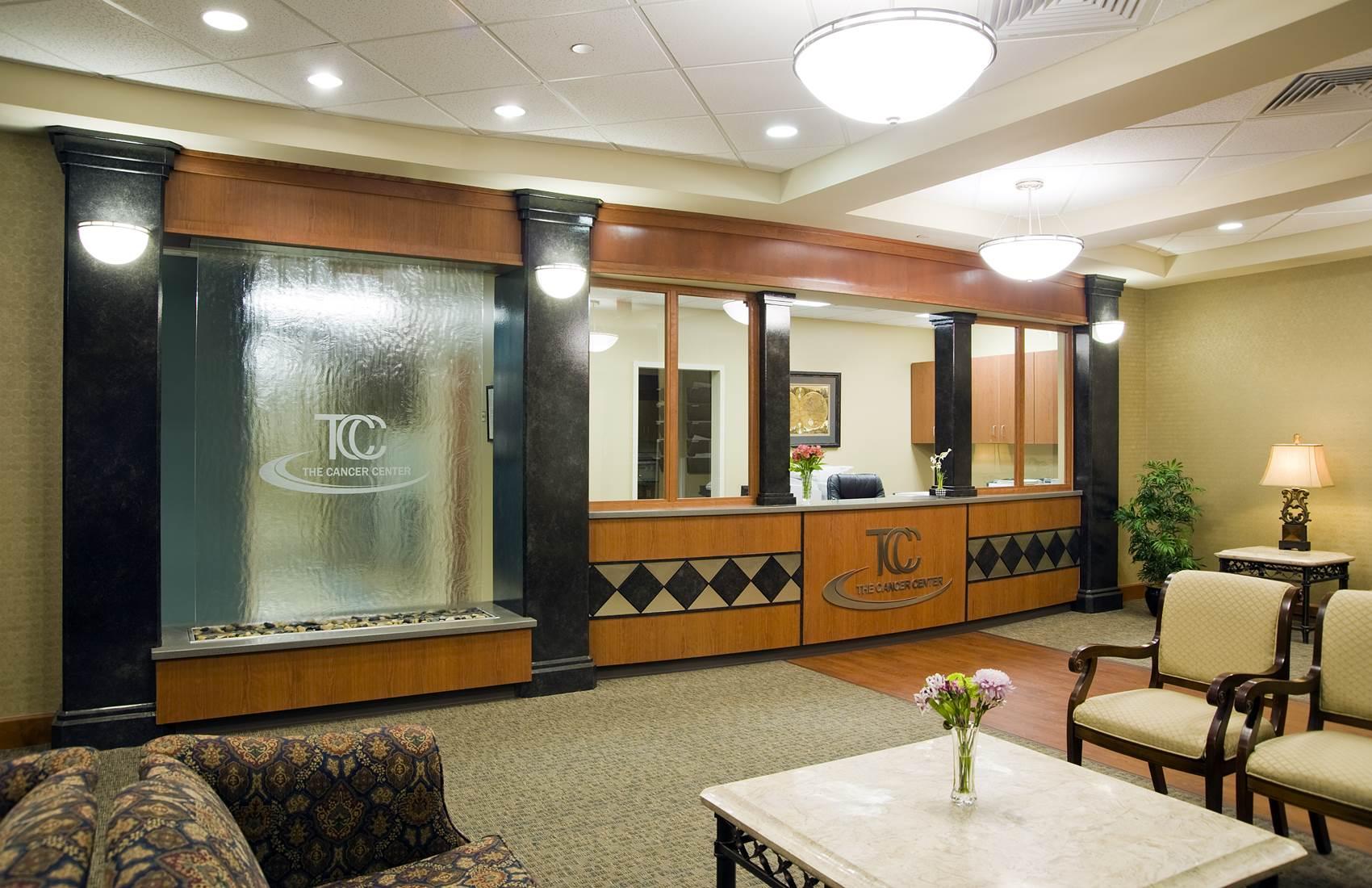 Huntsville Hospital cancer center lobby