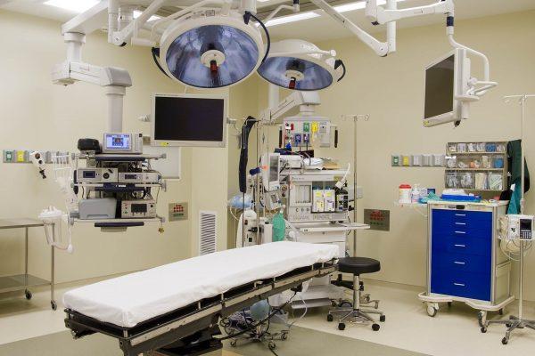 Operating room at Huntsville Hospital