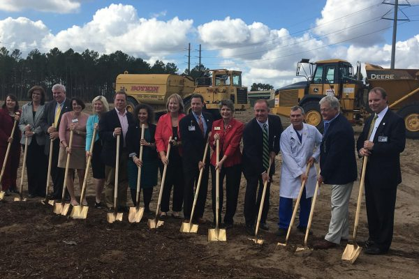 Robins & Morton, Orlando Health Central Celebrate Horizon West Freestanding Emergency Department Groundbreaking