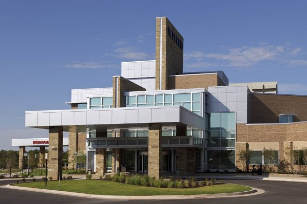 Exterior of Integris Health Edmond