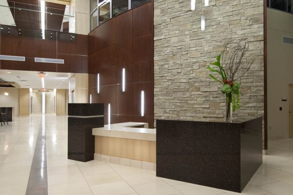 Integris Health Edmond first floor lobby
