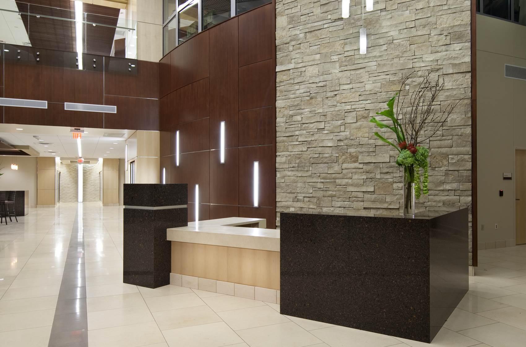 Integris Health Edmond first floor lobby