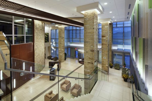 Integris Health Edmond lobby