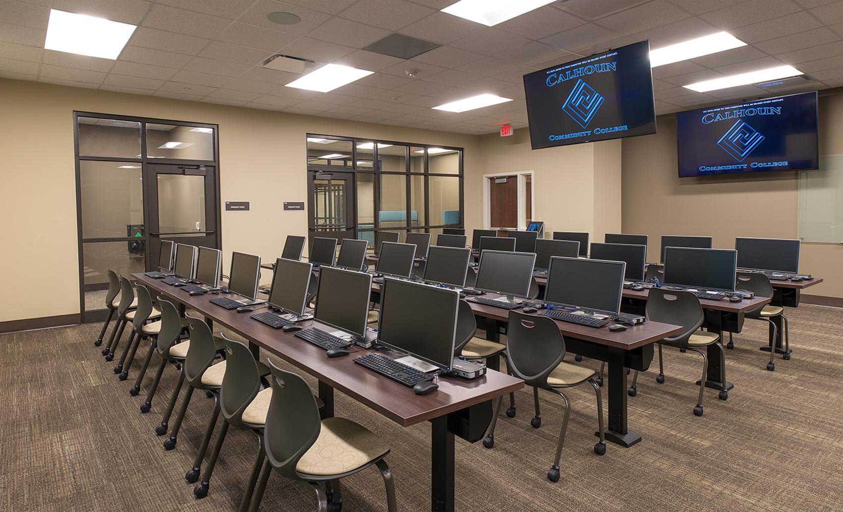 Classroom at Calhoun Community College