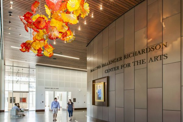Main lobby of the Rosalind Sallenger Richardson Center for the Arts