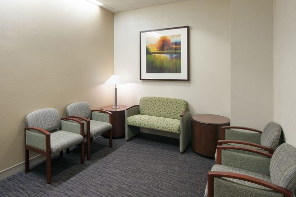 Waiting area at Mayo Clinic in Jacksonville