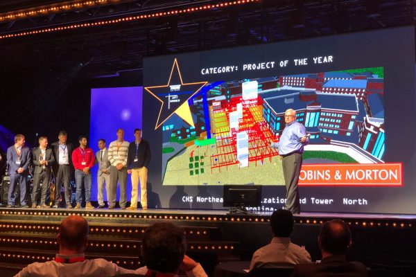 Robins & Morton receives Project of the Year at Synchro Software Digital Construction Awards