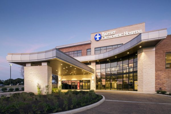Exterior of North Central Baptist Orthopedic Hospital