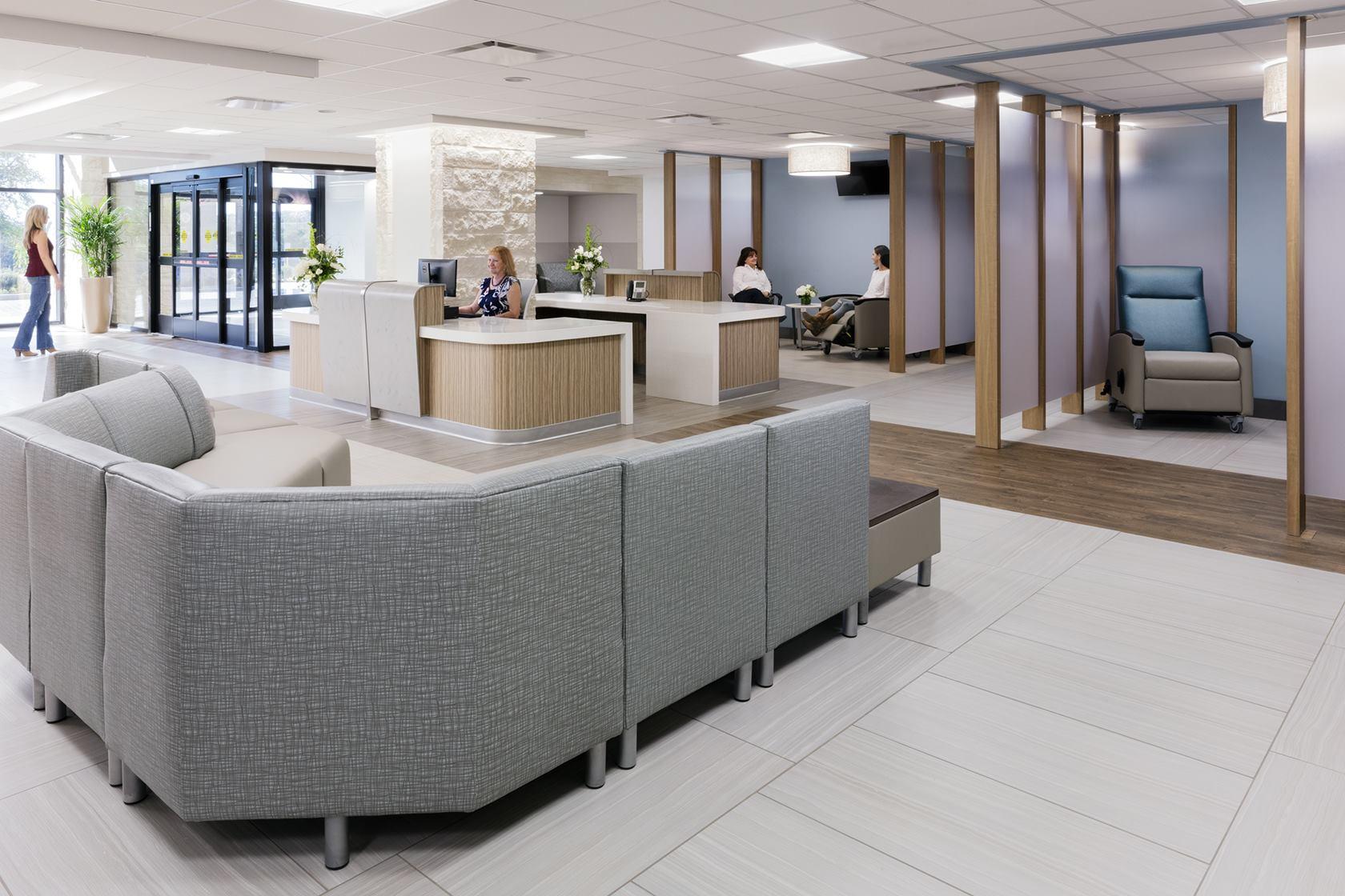 North Central Baptist Orthopedic Hospital ground floor lobby