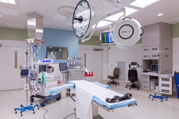 Operating room at North Central Baptist Orthopedic Hospital
