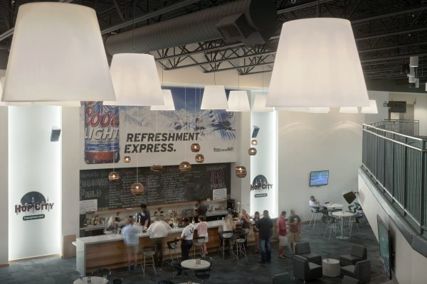 Event space at Regions Field