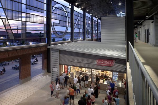 Concessions at Regions Field