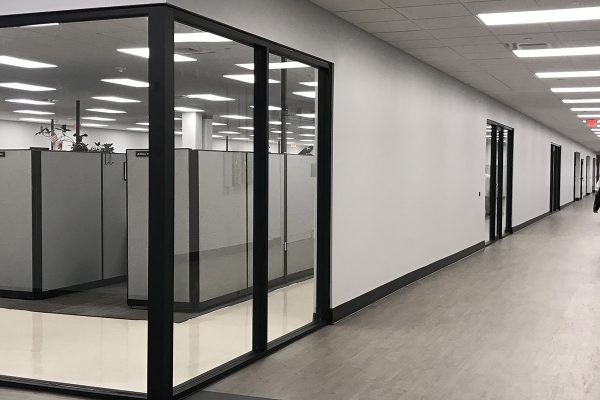 offices and corridor