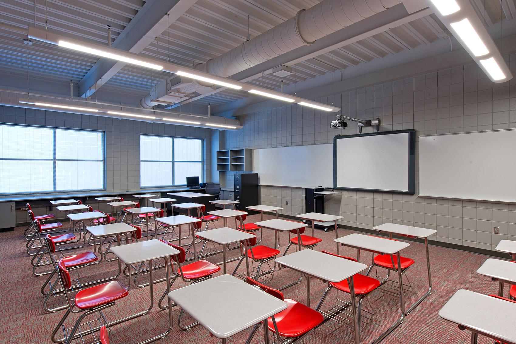 Opelika High School Classroom