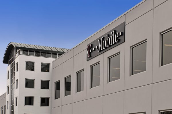 Exterior view of T Mobile Corporate Office