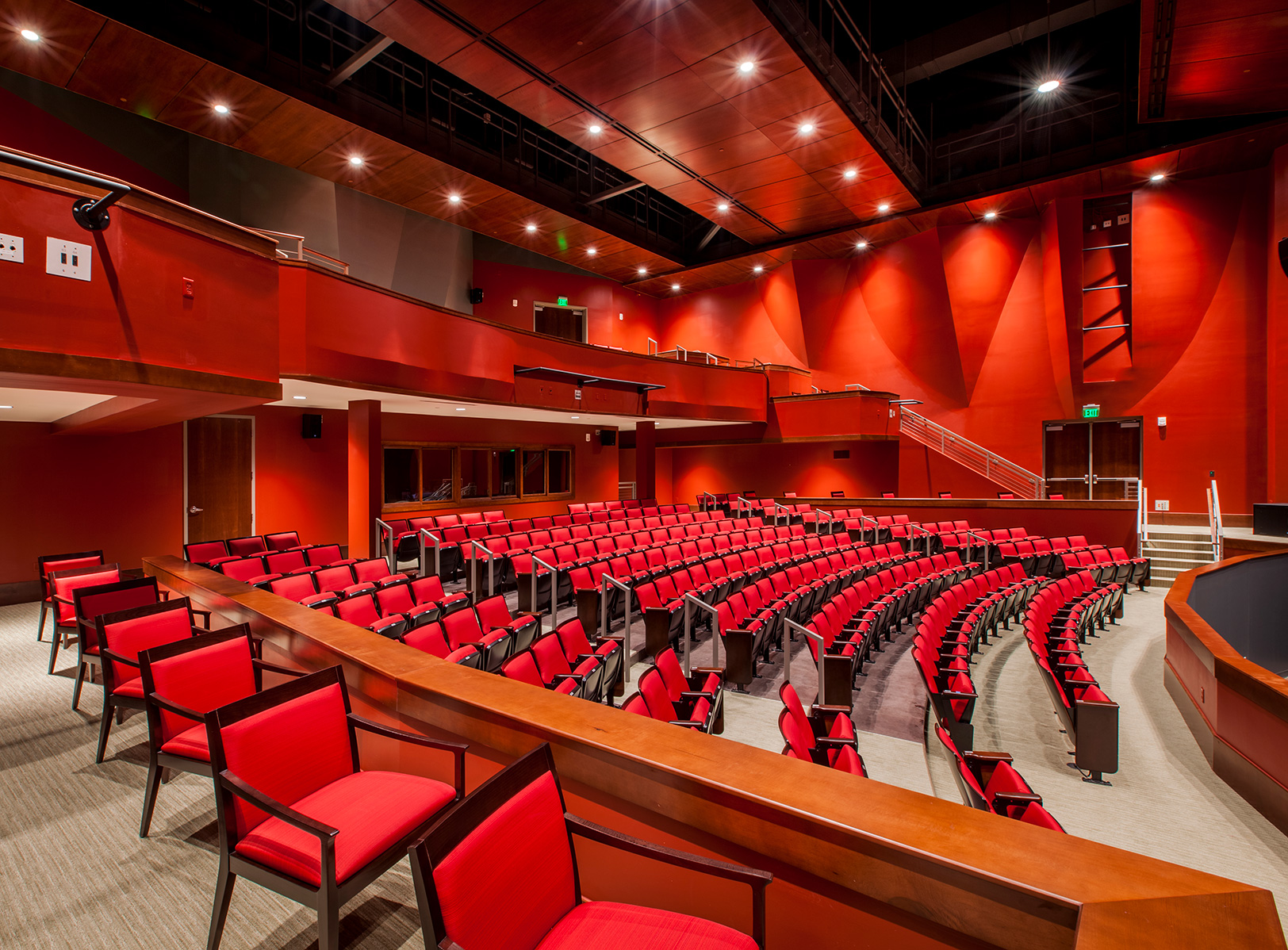 Theater in the Rosalind Sallenger Richardson Center for the Arts