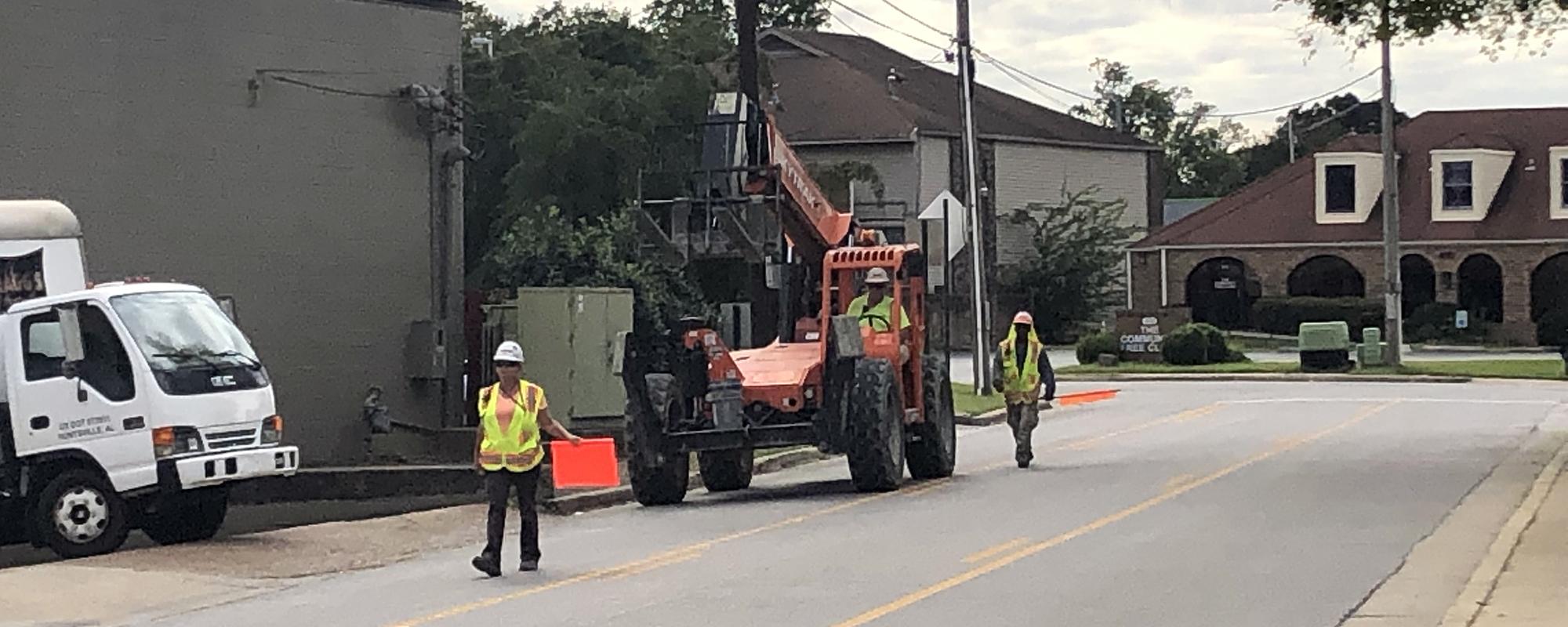 construction equipment guidance