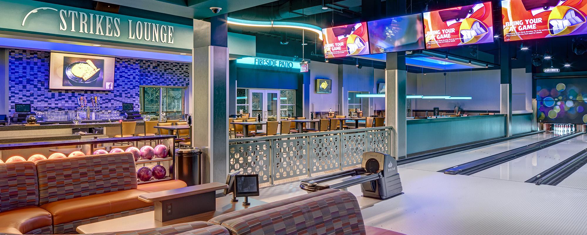 UltraStar Strikes Lounge and Second Floor