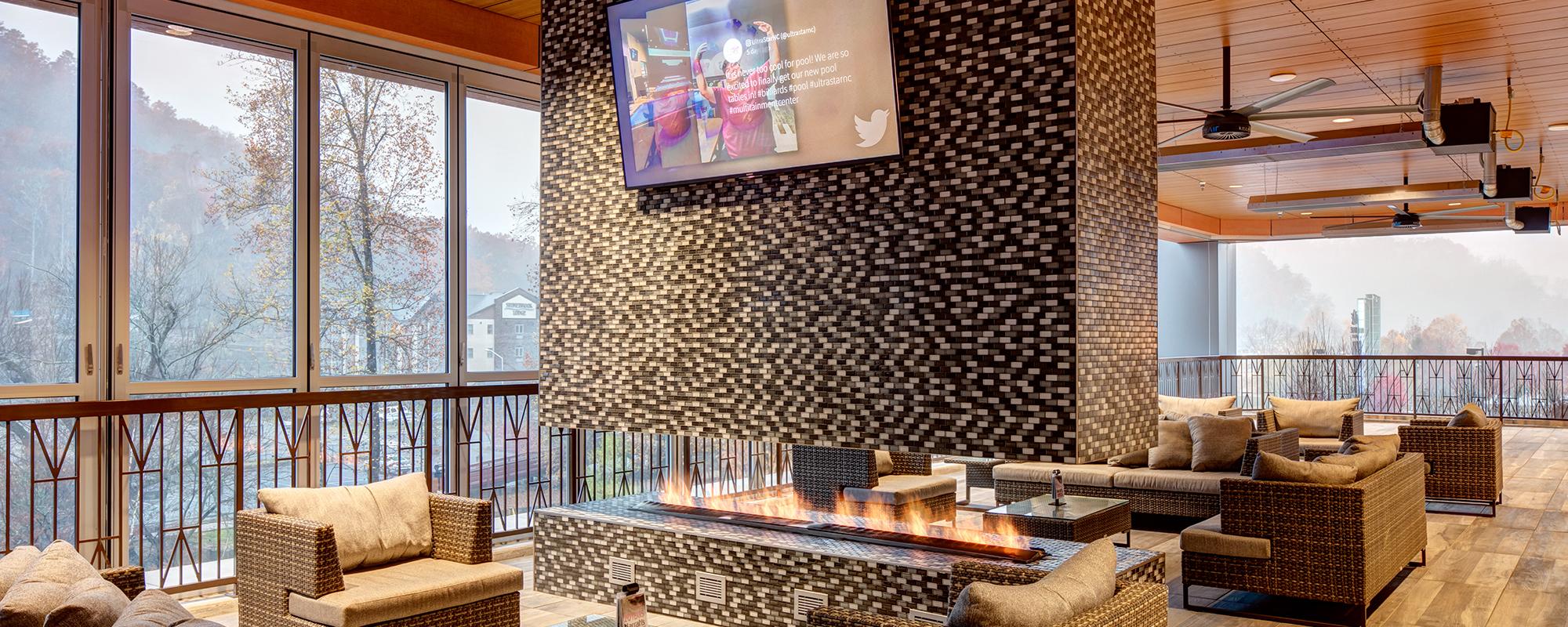 UltraStar Second Floor Patio and Bar