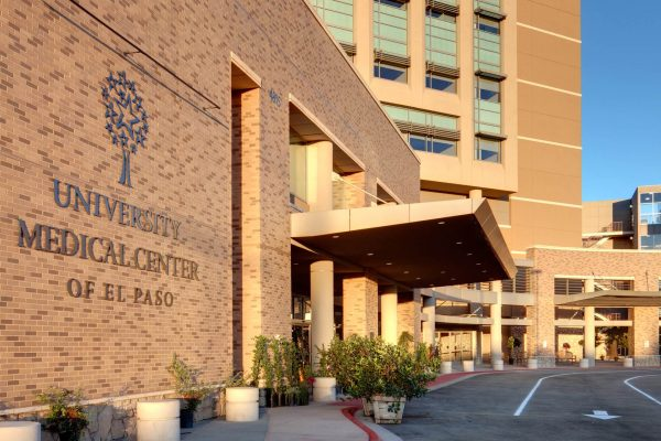 Entrance to the University Medical Center of El Paso